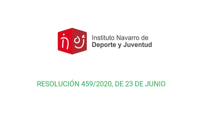 Información importante - Resolución 459/2020