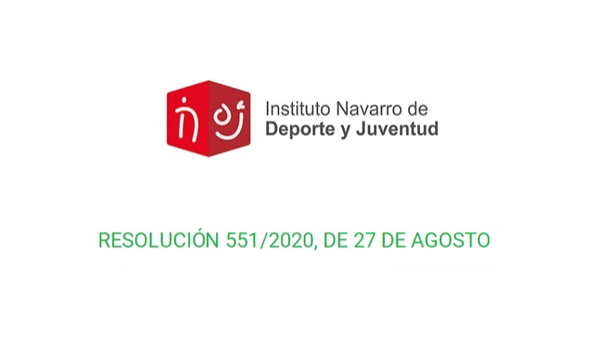 Información importante - Resolución 551/2020